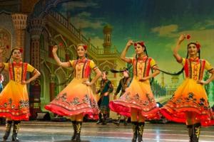 维吾尔风俗性舞蹈