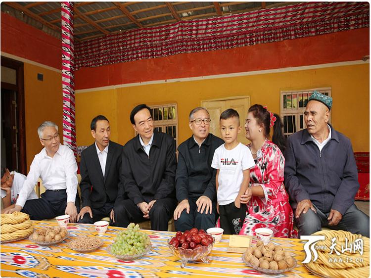 天津市党政代表团来疆考察对口支援工作