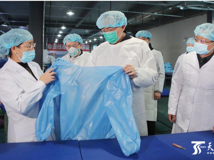 陈全国在乌鲁木齐市检查新型冠状病毒感染的肺炎疫情防控工作